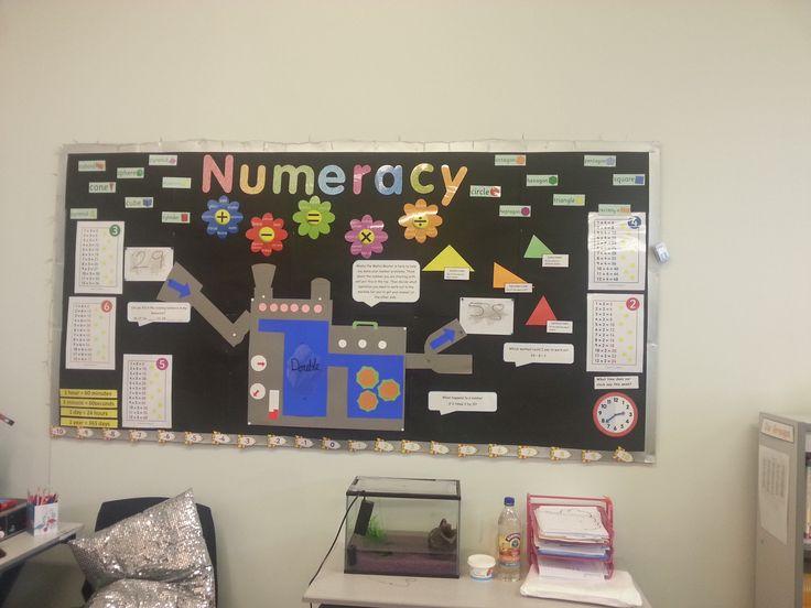 Classroom Ideas For Nqt ~ Best numeracy display ideas on pinterest maths