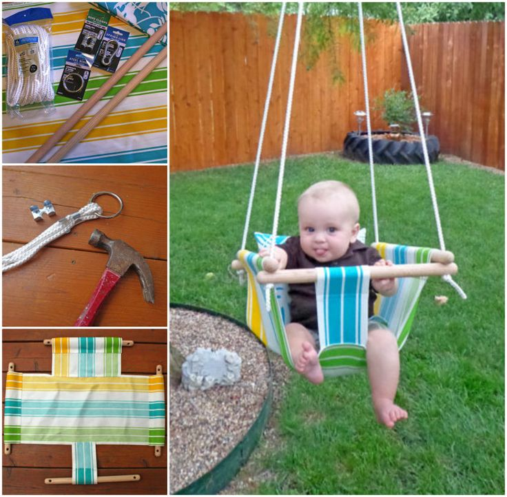 Canvas Baby Hammock Swing