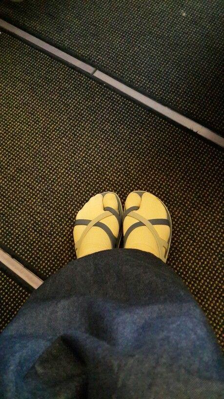 My footsteps at Etihad Airways EY 312 Jeddah - Abu Dhabi, 110414