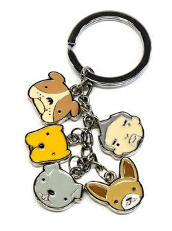 Now you can be part of Cesar's Pack™ and take them wherever you go with this cute keychain! It features a heavy duty key ring that keeps all your keys secure. A must-have for Cesar Millan fans!  A por