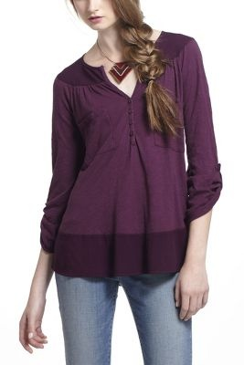 Repose Pocketed Henley
