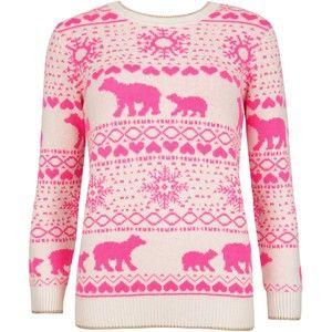Pink Polar Bear Sweater