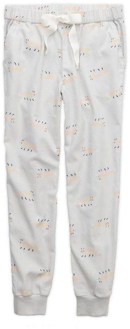 aerie Glacier Grey Skinny Flannel Pajama Pants, Womens XS on shopstyle.com.au