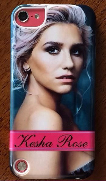 "(Photo by @KitKat_72) Got my new ""Kesha Rose"" case this week. I'm so in love<3<3<3 #KeshaRoseSebert #CrazyKid #KeshaisQueen"
