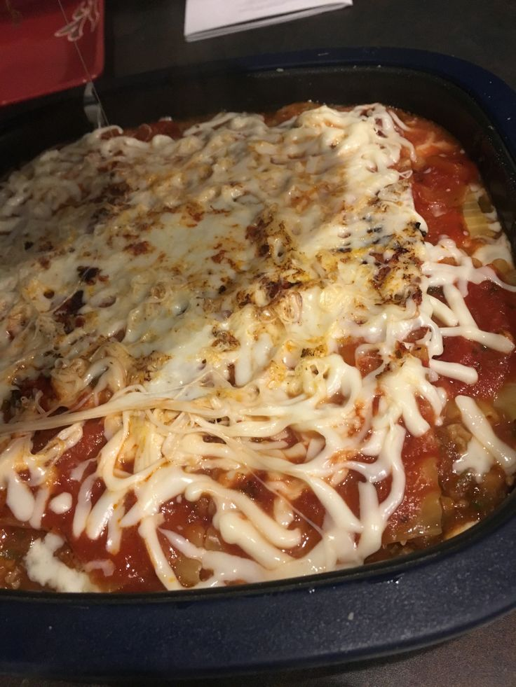 Use the Tupperware MicroPro Grill to quickly make lasagna in the microwave.  Tupperware recipes save time in the kitchen.