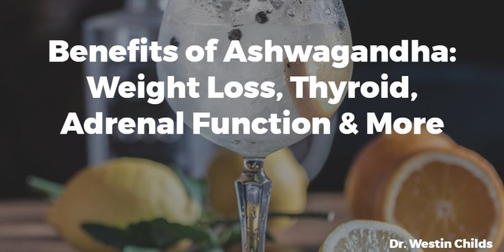 Did you know that Ashwagandha can help treat weight loss resistance, hypothyroidism and adrenal problems? Use this guide if you have any of these conditions