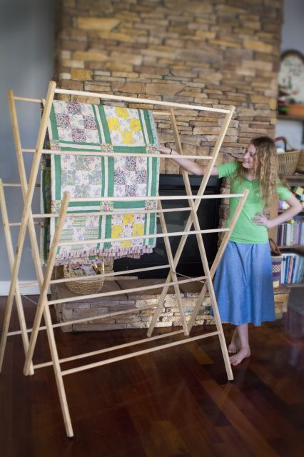 The Homesteader Is Our Extra Large Drying Rack For Every Day Usage