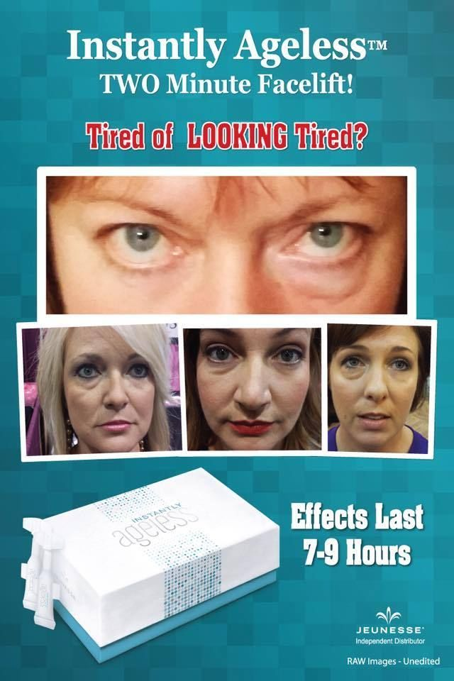 Jeunesse Instantly Ageless 25 Vials Box Shipped from UK Europe 1st Class Post