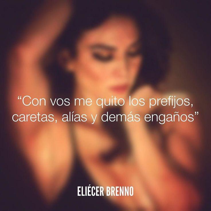 Con vos me quito los prefijos caretas alías y demás engaños Eliécer Brenno  Foto: @luzrramos  La Causa http://ift.tt/2ggOU9J  #caretas #quotes #writers #escritores #EliecerBrenno #reading #textos #instafrases #instaquotes #panama #poemas #poesias #pensamientos #autores #argentina #frases #frasedeldia #CulturaColectiva #letrasdeautores #chile #versos #barcelona #madrid #mexico #microcuentos #nochedepoemas #luzramos #accionpoetica #colombia #venezuela