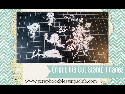 How to Die Cut your Stamps with Cricut and Design Studio