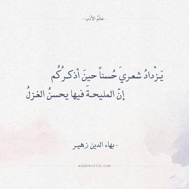 اقتباسات وأبيات شعر عن حكم عالم الأدب Arabic Love Quotes Love Quotes Quotes