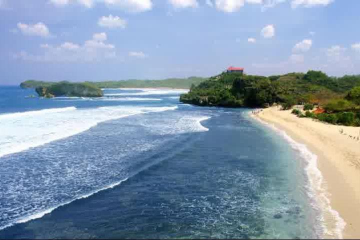 best moment at kukup beach yogyakarta indonesia