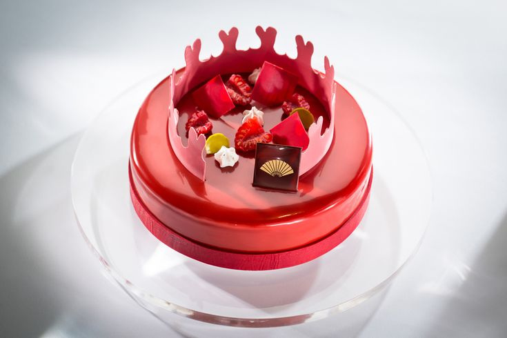 Frank Haasnoot : Dutch pastry chef - plated desserts - Chinese V-Day Cake
