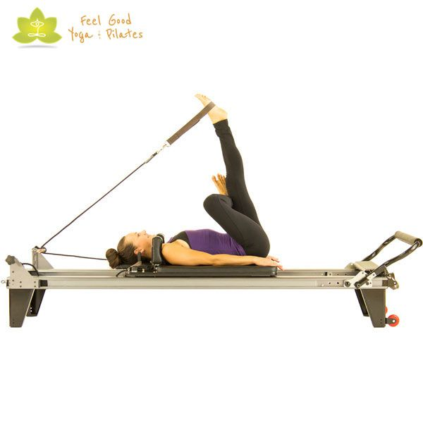 thread the needle pilates reformer exercise
