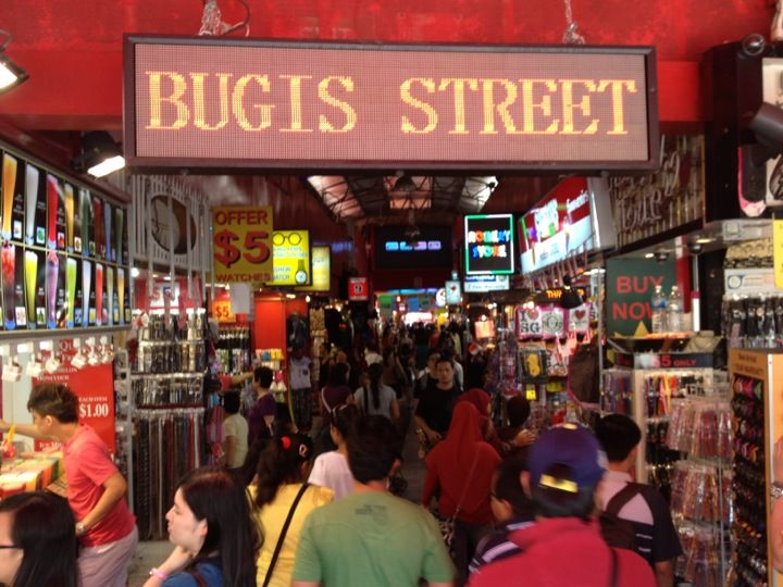 #singapore . Bugis street the ultima street shopping destination. Wonderful stuff at the cheapest rates + u can bargain . :D