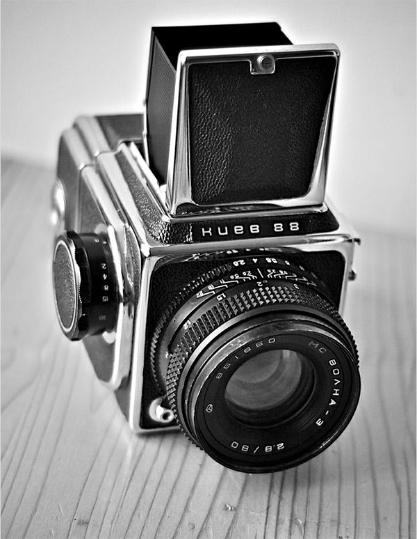 Kiev 88 in Vintage Camera Portraits