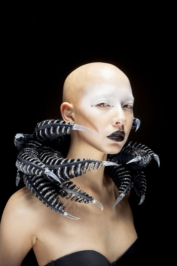 Dennis Song (student from BA Jewellery Design at Extreme McQueen: How to Wear Accessories seminar, June 2015)
