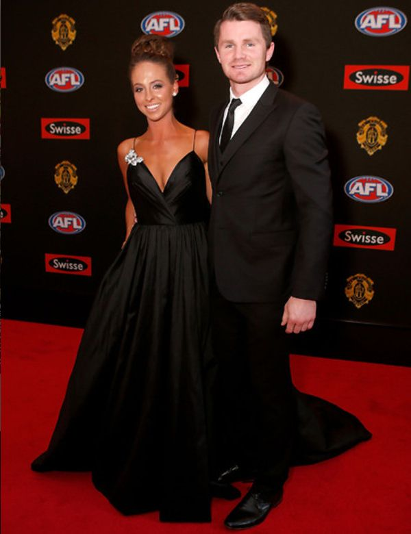 Mardi Harwood in Amaline Vitale at The Brownlow's