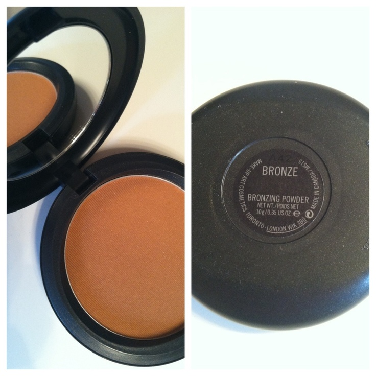 MAC Bronzer - Bronze. Have Golden and now need this! Perdecr matte bronzer!