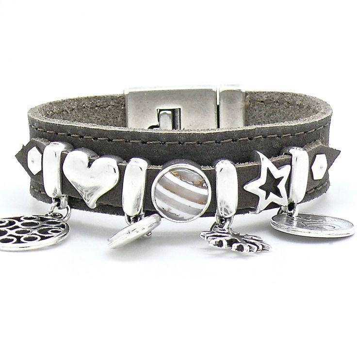 42 beste afbeeldingen van armbanden leer for Armband fa r beste freundin