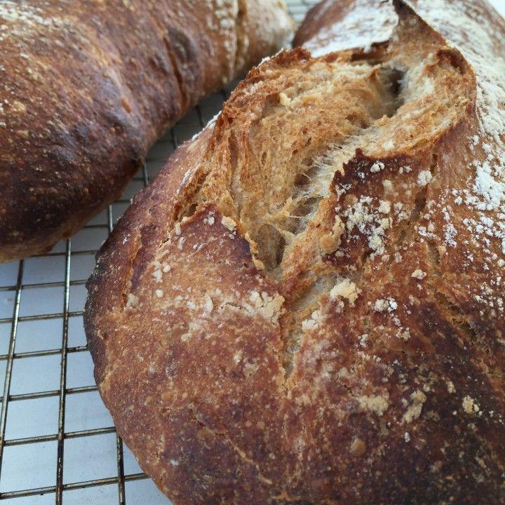Ølandshvede brød med surdej