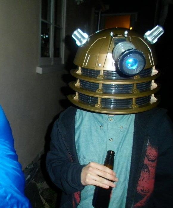 Even getting in amongst halloween 2011 Im a Dalek incase you didn't know #greatwalker