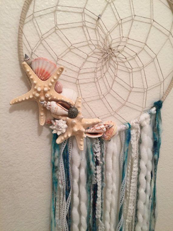 Mermaid Dreams bohemian dream catcher x-large by ARTbySarahRice