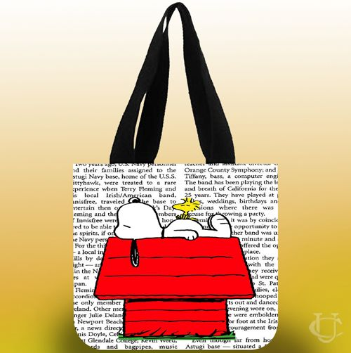 Snoopy Tote Bags