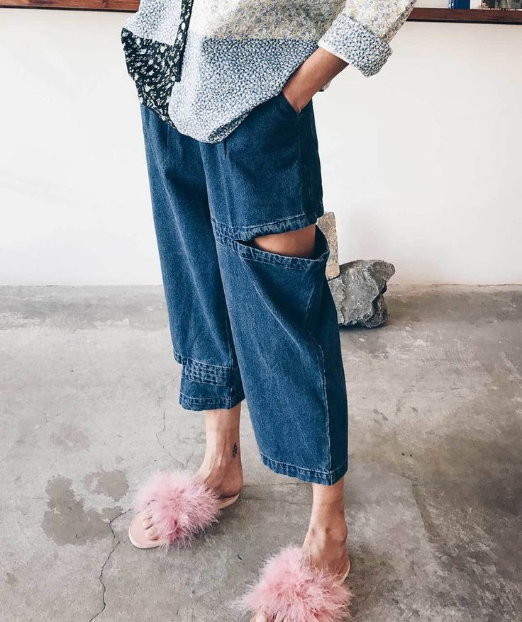 We always say, you can never have enough denim. Add these Perks and Mini jeans to your collection and you won't regret it. Their drop crotch fit and cutout detail will make them unlike any other pair you have.