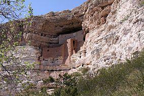 Montezuma Castle National Park, near Camp Verde, Arizona