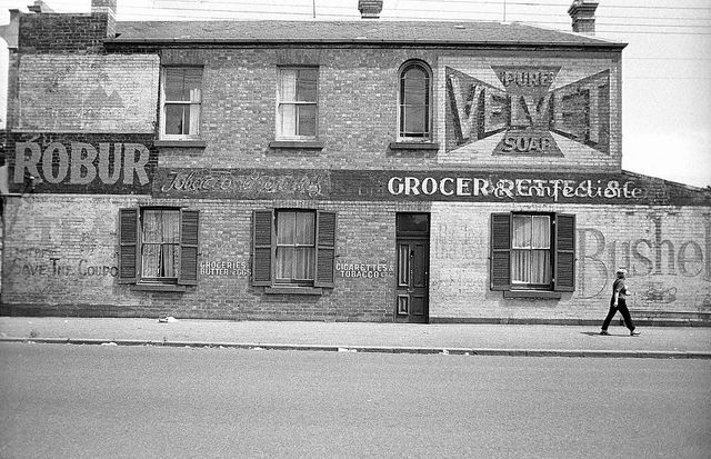 Park Street North Fitzroy, January 1977. Melbourne Australia photo by David Wadelton