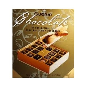 Gudrun A Collection of Fine Belgian Chocolates. Mmmmmmmm