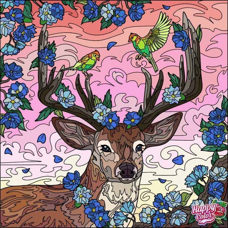 Pin by Асель Сыдыкмамбетова on раскраски | Colorful art ...