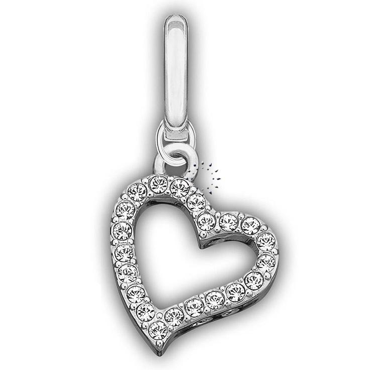Κρεμαστό Love Heart Charm Swarovski  44€  http://www.kosmima.gr/product_info.php?manufacturers_id=62_id=18439