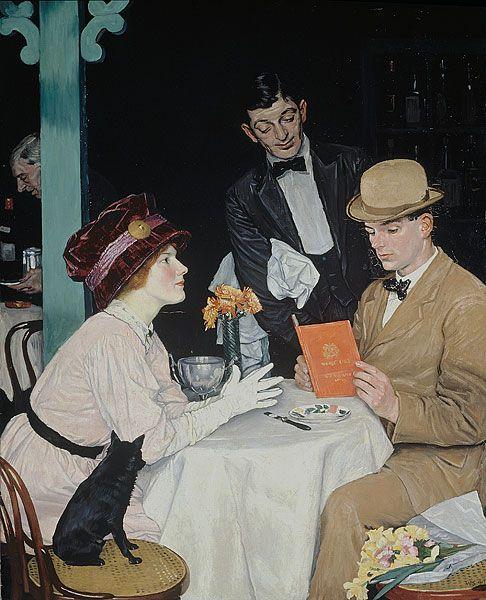 William Strang : Bank Holiday 1908