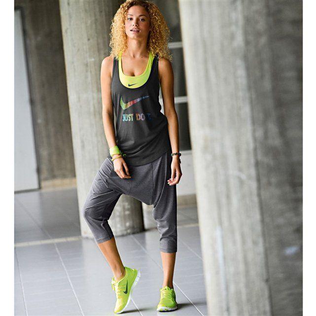 Pantacourt forme sarouel spécial fitness -REDOUTE - 69,99 Pantacourt