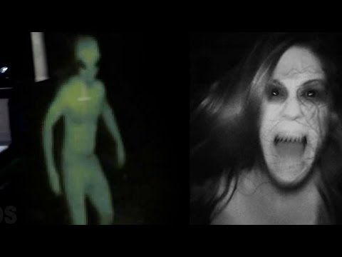 Top 30 Chilling Videos Of Ghost Caught On Camera 2016 | Scary Ghost Vide...