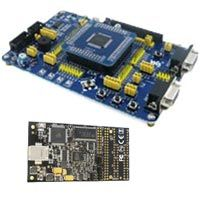 AVR Xmega board with AVR DRAGON, Software and Sample Code.