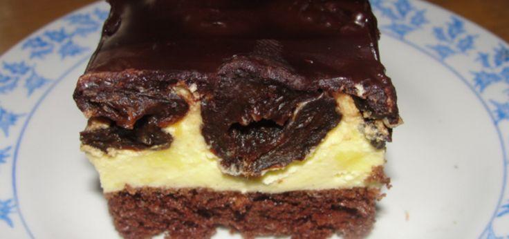 Ciasto pijana śliwka - main