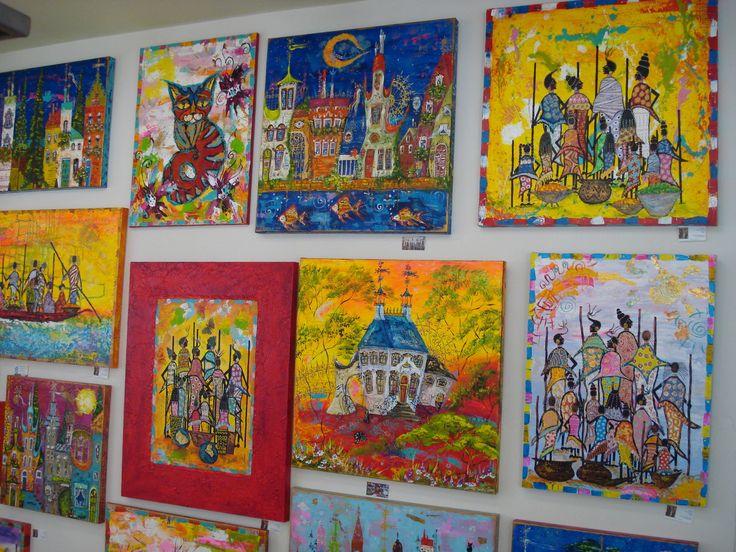 Expositie 2012, Kunst&Zo,Schilderijen van Tatyana Murova www.artterra.com
