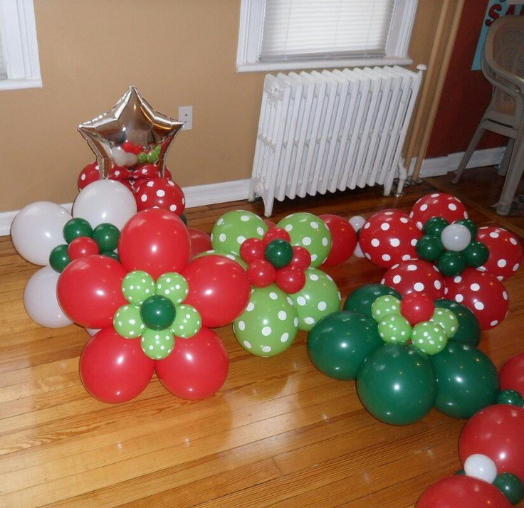 73 best Christmas Balloons images on Pinterest Christmas balloons