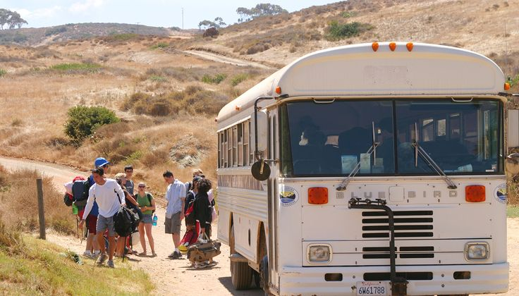 The Safari Bus links Avalon with Two Harbors on Catalina Island, with stops at Little Harbor, Airport in the Sky, Black Jack Junction. Schedule, rates.