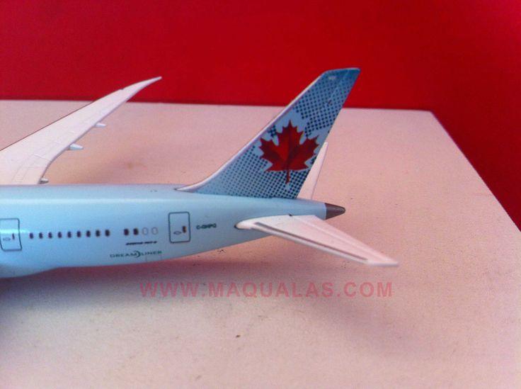 Boeing 787 Dreamliner Air Canada a escala 1:500 de Herpa