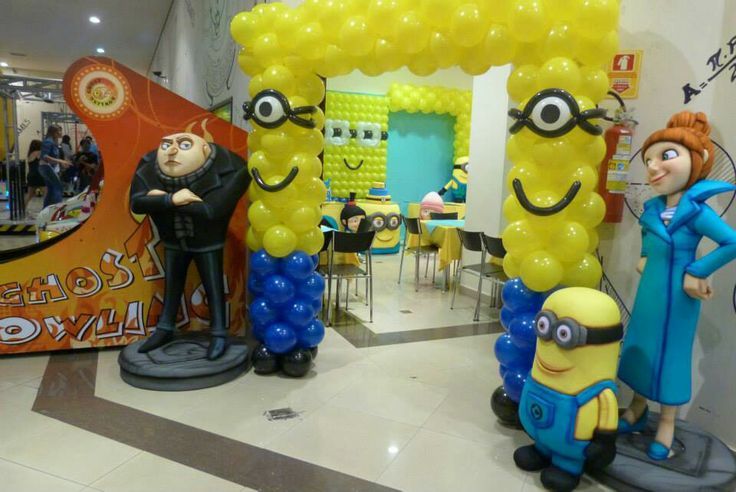 Minions Decoracion Para Fiestas ~ Ideas Fiestas, Globos Ideas, Parties Ideas, De Globos, 960642 P?xele