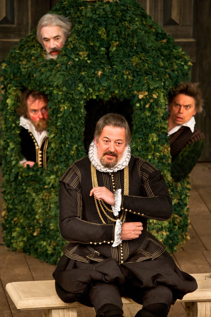 Twelfth Night: gulling Malvolio - Stephen Fry - Apollo Theatre - November 2012