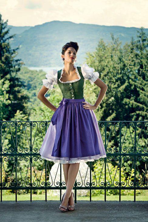 Love every last element! #dirndl #dress #folk #costume #German #clothing