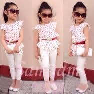 Resultado de imagen para ropa de niña moderna