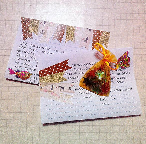 In the middle of preparing some outgoing mail