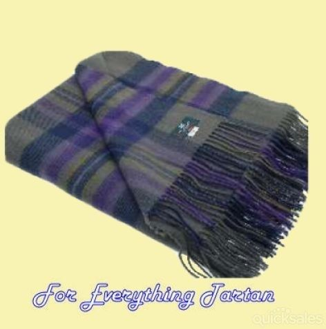 Heather Isle Tartan Lambswool Blanket Throw By Jmb7339 150 00
