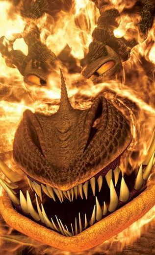 """Monstrous Nightmare is a stoker class dragon first featured in the 2010 film """"How to Train Your Dragon."""""""